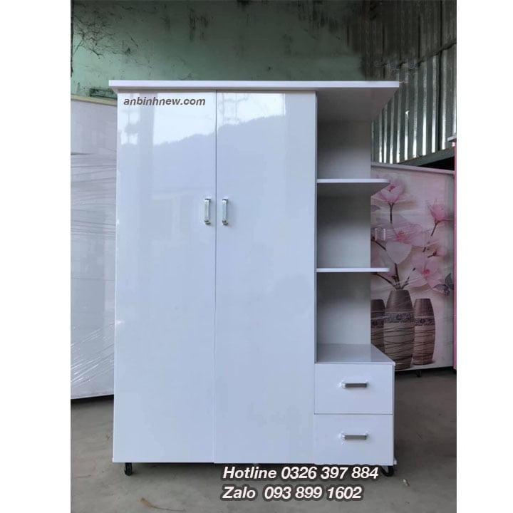 Tủ nhựa đựng quần áo giá rẻ rộng 1m25 x cao 1m8 AB703
