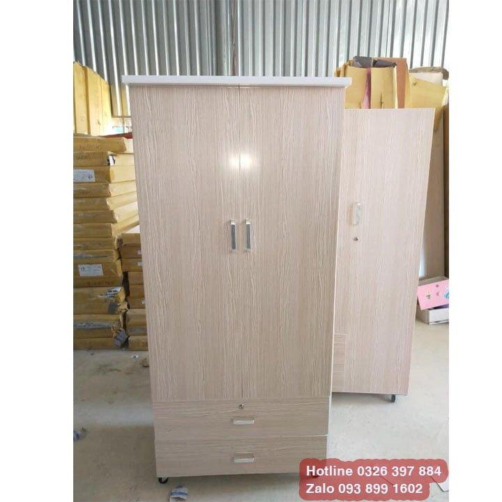 Tủ nhựa Giả gỗ có gương AB723 2