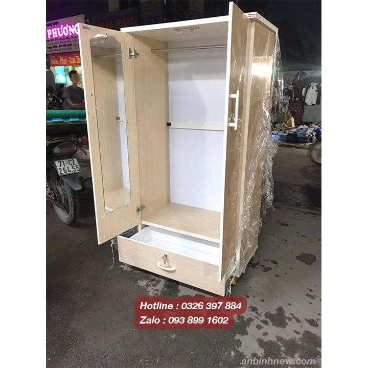 Tủ đồ nhựa đựng quần áo nhỏ gọn AB707 3