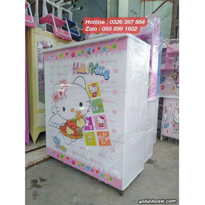 Tủ đựng quần áo bằng nhựa Đài Loan nhỏ gọn 1