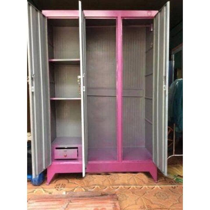 Tủ đựng quần áo giá rẻ nhiều ngăn 1m2 x 1m8 3
