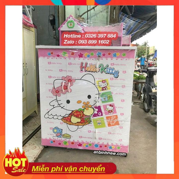 Tủ quần áo nhựa giá rẻ anbinhnew.com