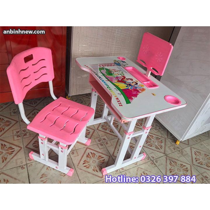 Bộ bàn ghế học sinh thông minh chống gù chống cận cho bé AB067 6