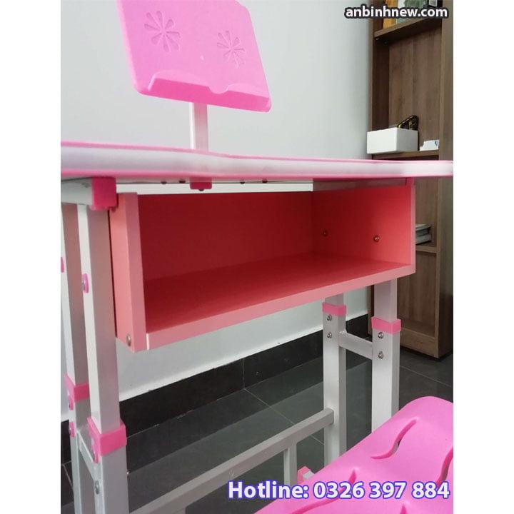 Bộ bàn ghế học sinh thông minh chống gù chống cận cho bé AB067 5