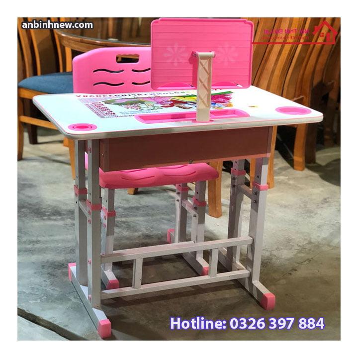 Bộ bàn ghế học sinh thông minh chống gù chống cận cho bé AB067 2