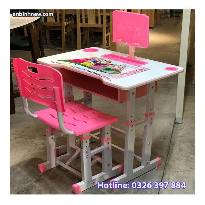 Bộ bàn ghế học sinh thông minh chống gù chống cận cho bé AB067 1