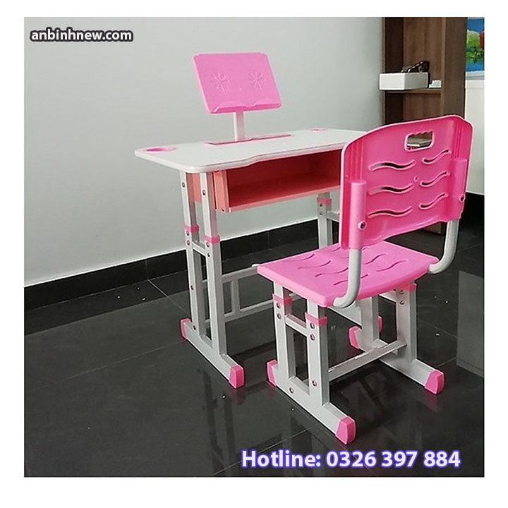 Bộ bàn ghế học sinh thông minh chống gù chống cận cho bé AB067