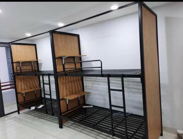 giường sắt nhà trọ, phòng cho thuê