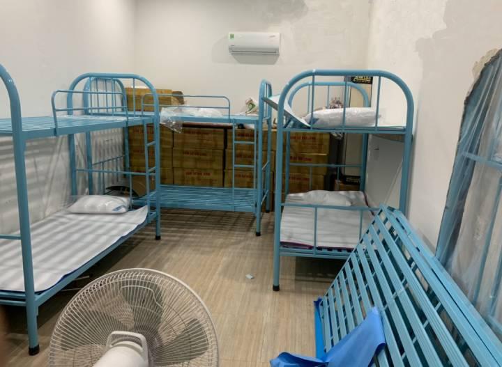 Lắp đặt giường ngủ tại kí túc xá MiNi tại Vũng Tàu