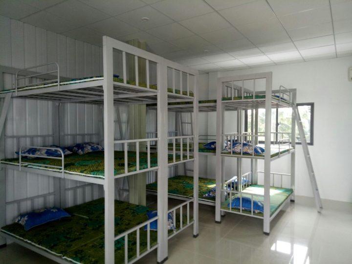 Lắp đặt hệ thống giường tầng cho ToyoTa Kiêng Giang