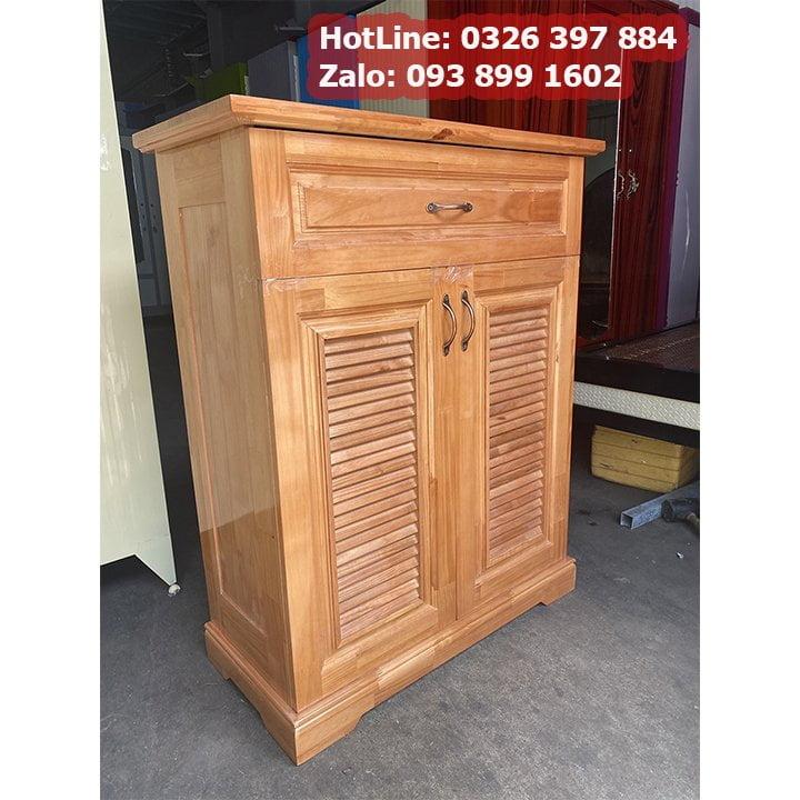 Tủ đựng giầy dép bằng gỗ nhỏ gọn ngang 80cm