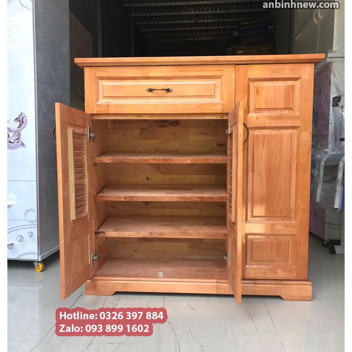 Tủ đựng giầy dép bằng gỗ nhỏ gọn ngang 80cm 5