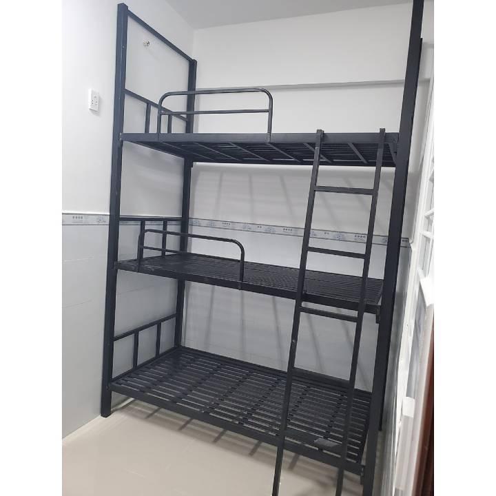 Giường 3 tầng bằng sắt giá rẻ, Mẫu giường ba tầng sắt đẹp 1