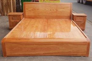 giường gỗ 1m6