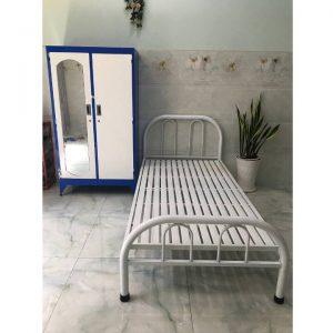 Giường sắt giá rẻ 1 người nằm