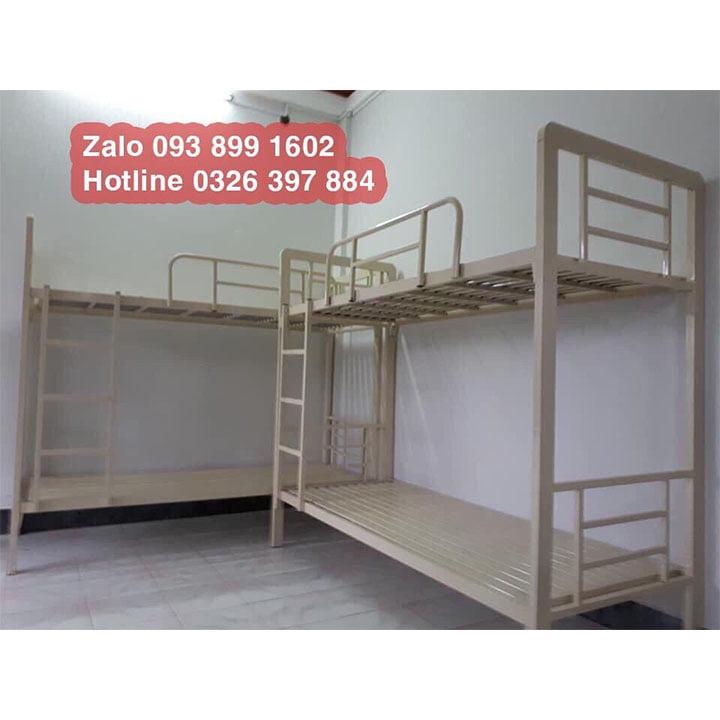 Giường tầng sắt, giường ngủ 2 tầng 1m, 1m2, 1m4, 1m6, 1m8 x 2m giá rẻ 8