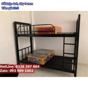 giường 2 tầng quân đội