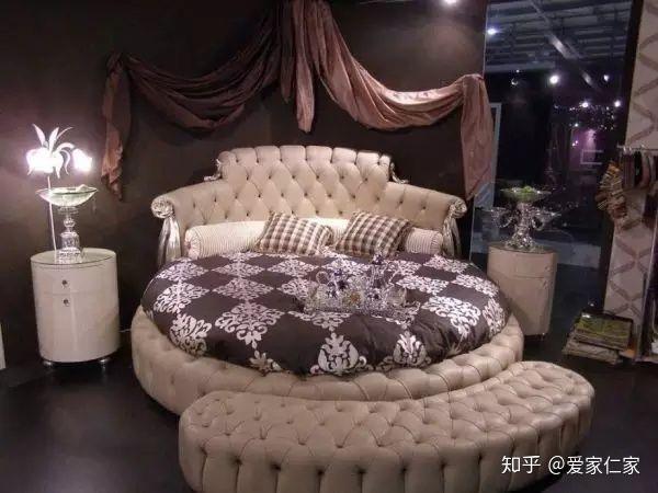 giường tròn, giường ngủ hình tròn